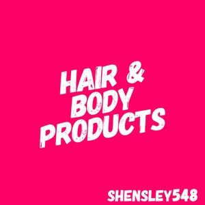 Hair & Body Products